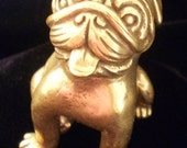 Pug Dog in Solid Bronze (REDUCED PRICE) Was S40.00 That's 25 percent off original price