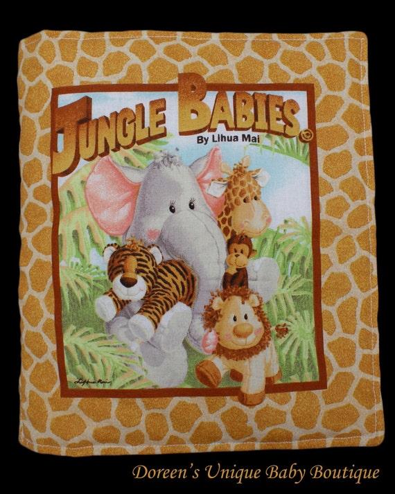 Jungle Animal Book