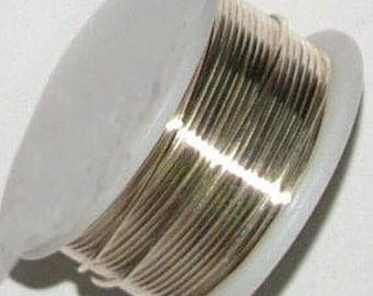24 Gauge Silver Plated Copper Wire