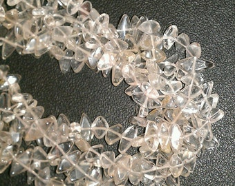 Diamond Shaped Quartz Beads - DQ-DQ