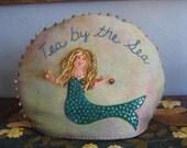 PDF - Mermaid -pincusion and tea cozy pattern - embrace your inner mermaid