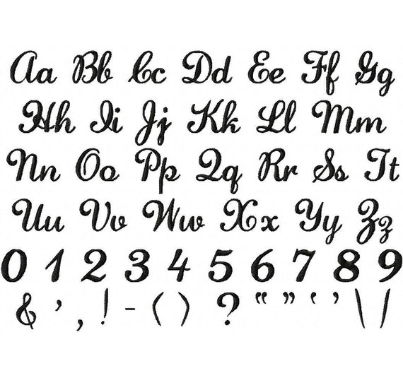 fancy script and symbols fonts embroidery font designs lauren