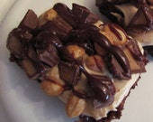 Rocky Road to Peanut Butter Goodness Brownies