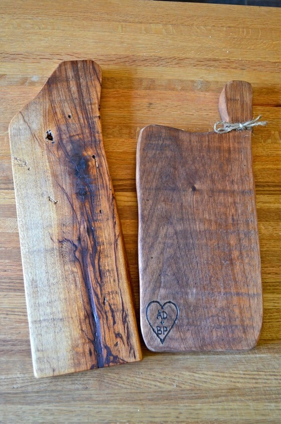 Rustic Charcuterie Of Natural Wood Cheese Board Bread Cutting