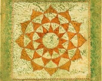 Divine Nature Mandala-  archival print on photo paper