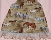 Jumper Dress for the Horse Lover, Size 4