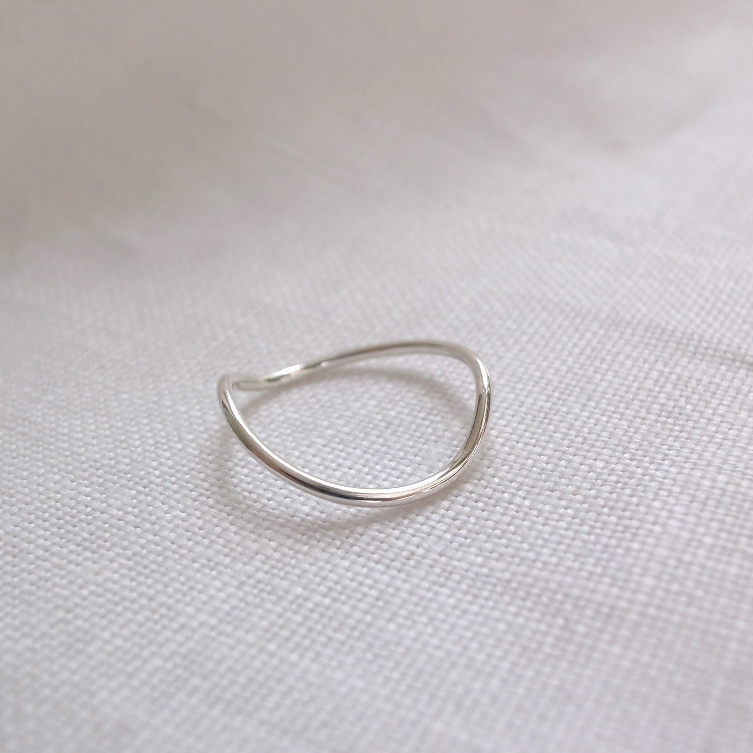wave ring sterling silver by maryscabinet on etsy