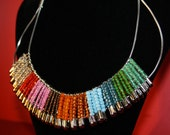 15% OFF Artisan Tribal Silver Necklace wire/pins/beads