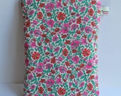 Vintage style Liberty print Kindle or E-reader case, cover - corduroy