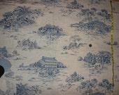 Vintage Americana Toile cotton fabric