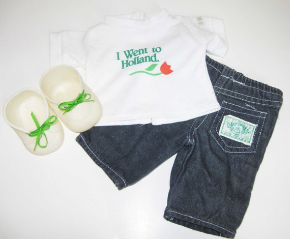 Cabbage Patch Outfit and shoes
