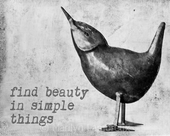 B&W Bird Sculpture Art Print - Peaceful Art - Meditation Artwork - Bird Sculpture Fine Art Photography - Home Decor