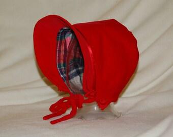 Velveteen Christmas Bonnet