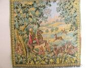 Vintage tapestry panel 11