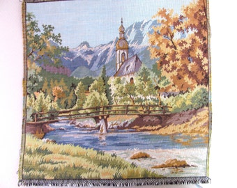 Vintage tapestry panel 13