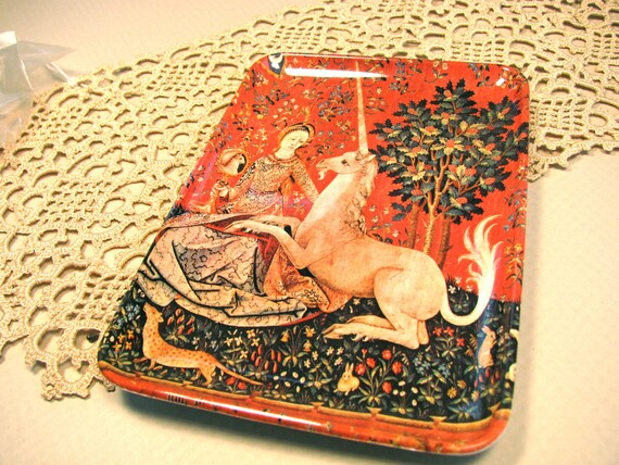 Decorative melamine tray-number 1