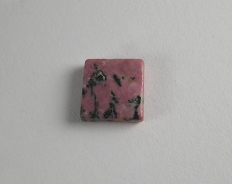 Pink Rhodonite Cabochon Square