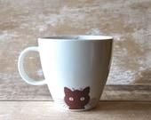 Mug Kitty Cat Mice and Yarn Left Handed 16 oz