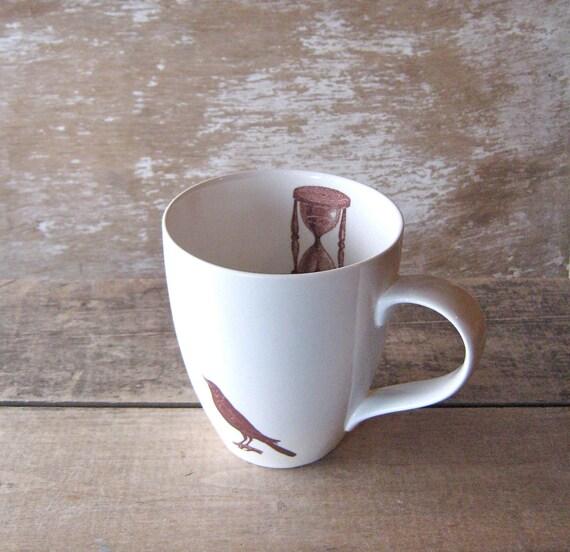 Mug Raven Hourglass Mushroom Discounted Second