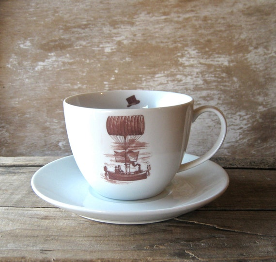 RESERVED Big Steampunk Mug WITHOUT Saucer