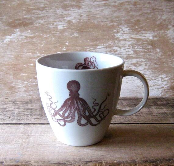 Mug Octopus Cephalopods Cuttlefish