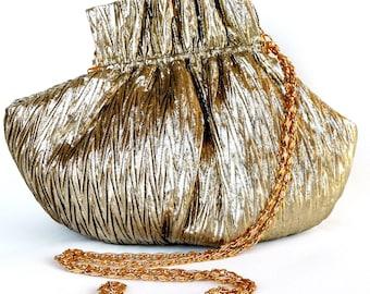 La Regale Evening Bag Gold