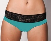 """Modal and lace thong """"Expression"""""""