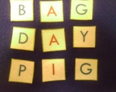 Large Package of  Felt ABC Letters,  300 Pieces Upper & Lowercase For making words