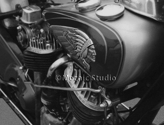 Vintage Indian Motorcycle Greeting Cards, Set of 8