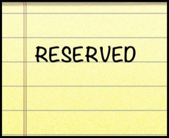 reserved for LYONSGIRL