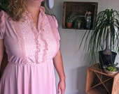Plus Size Pink Lace Dolly Parton Dress