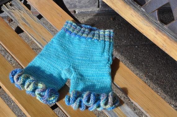 CLEARANCE Newborn girl wool longies