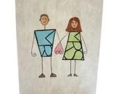 personalized Mr & Mrs ORIGINAL 9x12