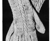 Women's Gloves Vintage Knitting Pattern PDF 1918