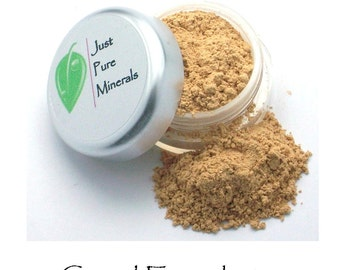 Camel Vegan Foundation - Always Vegan and Cruelty-Free- 9g product in a 30g sifter jar