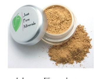 Honey Vegan Mineral Foundation - Cruelty-Free Vegan Mineral Makeup