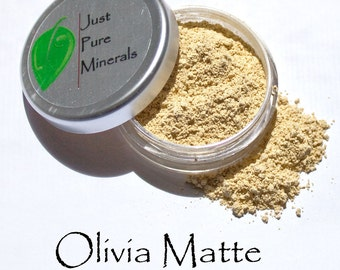 Olivia Matte Setting Powder - Always Vegan and Cruelty-Free- 9g product in a 30g sifter jar