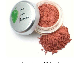 Apricot Vegan Blush - Always Vegan and Cruelty-Free - 6g product filling a 20g sifter jar
