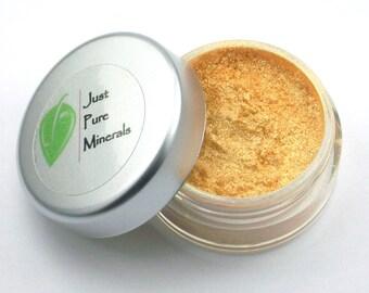 24K Gold Vegan Eye Shadow - Cruelty Free Mineral Eye Shadow- 3g of product in a 10g jar
