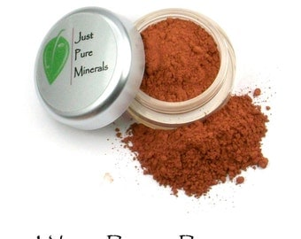 Warm Berry Vegan Bronzer- Always Vegan and Cruelty-Free - 6g product filling a 20g sifter jar