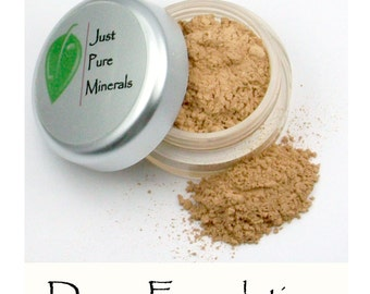Dawn Vegan Foundation - Always Vegan and Cruelty-Free- 9g product in a 30g sifter jar