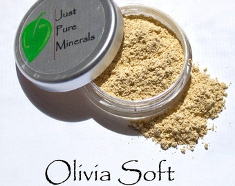Olivia Soft Mineral Veil - Always Vegan and Cruelty-Free- 9g product in a 30g sifter jar