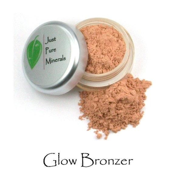 Glow Vegan Bronzer- Vegan Mineral Makeup - Absolutely cruelty free and absolutely gorgeous.