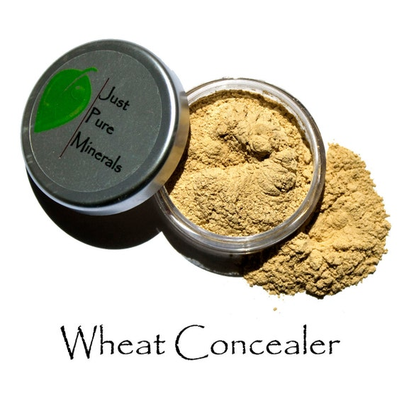 Wheat Vegan Color Concealer - Always Vegan and Cruelty-Free- 6g product in a 20g sifter jar