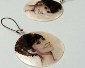 Vintage Earrings - Audrey Hepburn