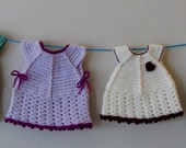 Crochet Baby Girl's Summer Vest Top INSTANT DOWNLOAD PDF from Thomasina Cummings Designs