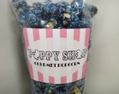 Gourmet Popcorn - Blueberry Candy Coating