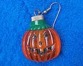 Light-Up Jack-o-Lantern Earrings