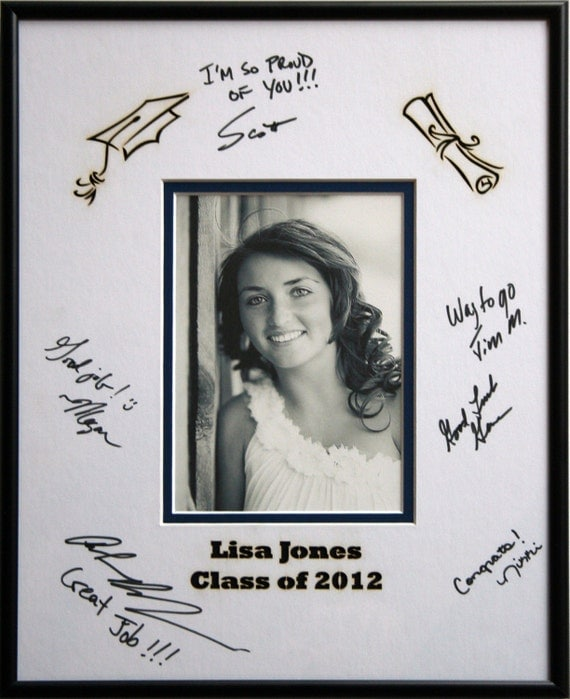 Custom Personalized Graduation Signature By