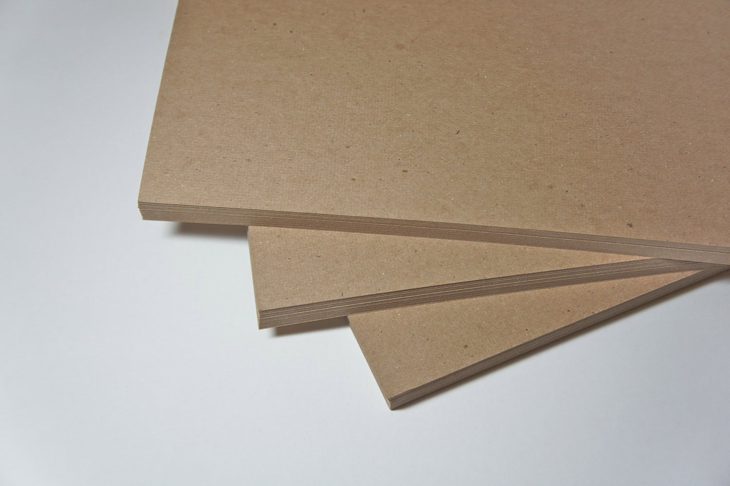 Natural Brown Kraft 105 lb Blank Business Card by